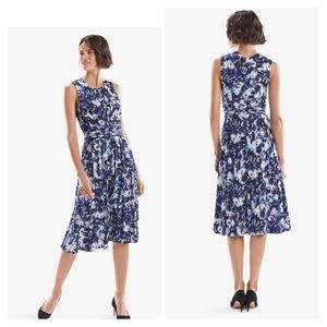 MM.Lafleur Hanna Dress Floral Crepe Sz Medium